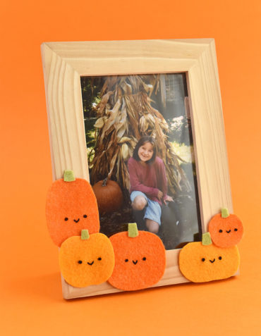 Pumpkin Patch Picture Frame