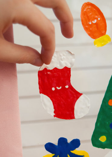 3D Holiday Window Clings