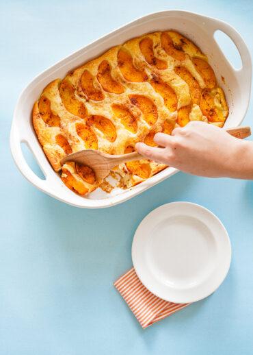 Nana's Peach Cobbler Recipe