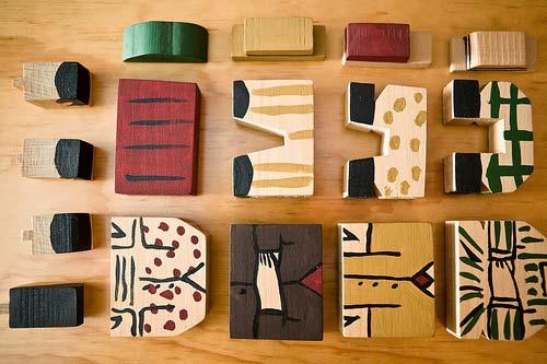 Joaquín Torres García block toys