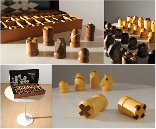 Modern Staunton Chess Set by Arthur Elliott