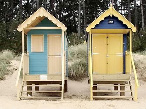 beach huts by james ward