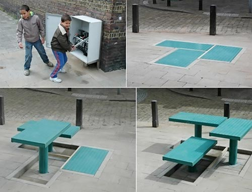 Pop-Up Table