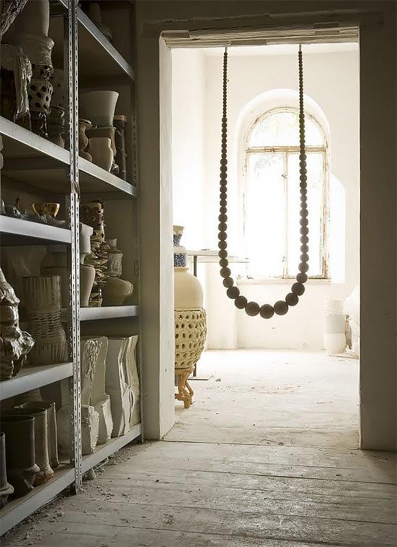 Swing Necklace by Johanna Richter