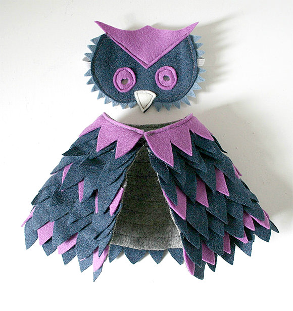 doll-sized owl costume by mikodesign