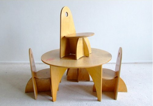 Vintage Children S Table By Ado Handmade Charlotte