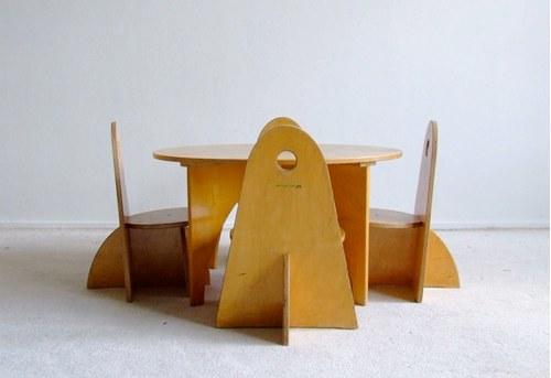 Vintage Children S Table By Ado Handmade Charlotte