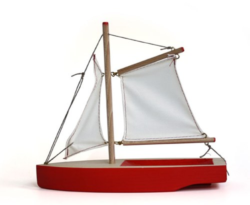Hase Weiss Wooden Toy Boat