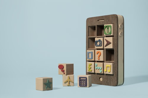 Wood iPhone