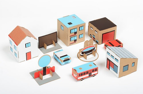 Cardboard Towns
