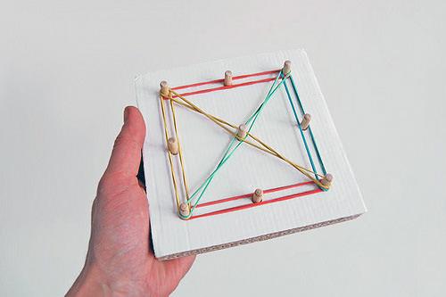 DIY Cardboard Learning Toys