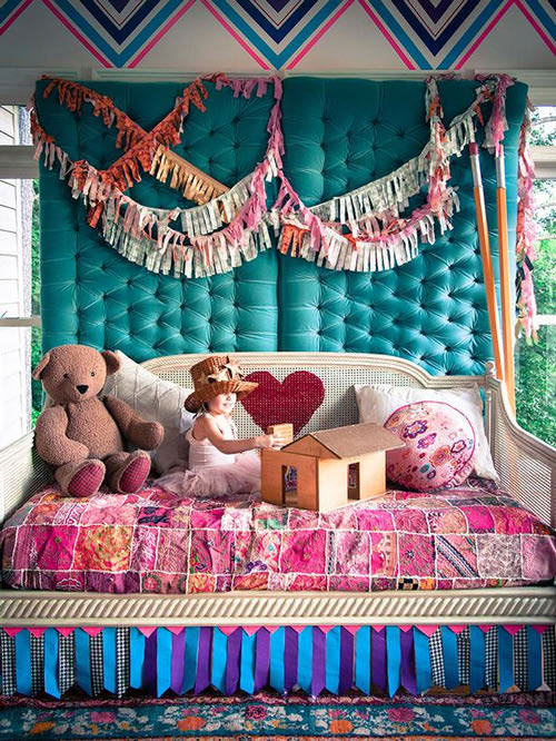 Budget-Friendly Duct Tape Decorations for Kids' Rooms  on HGTV