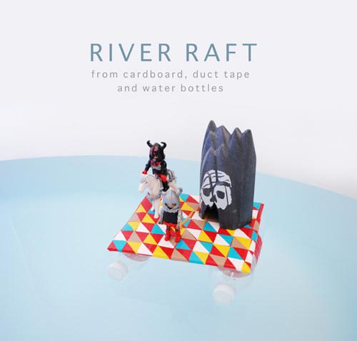 DIY Duct Tape River Raft