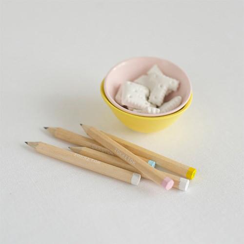 diy paint dipped pencils