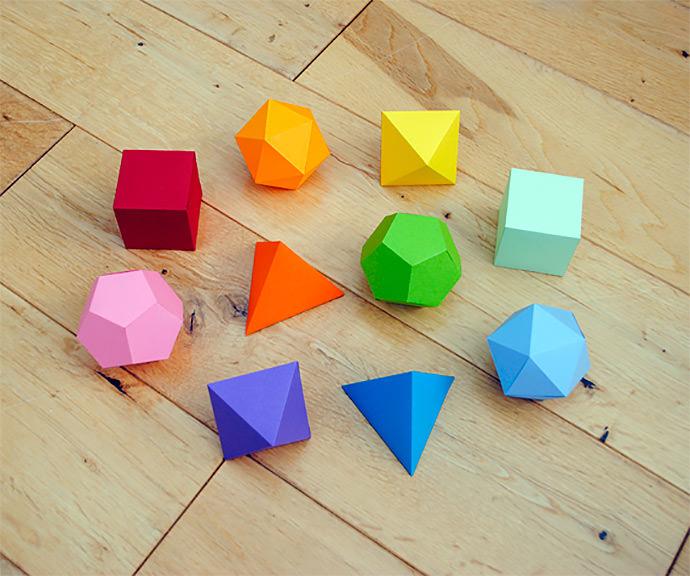 diy mathematics origami