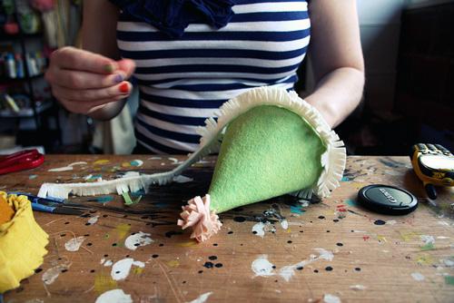 DIY Felt Party Hats
