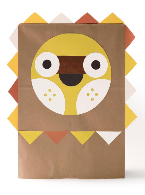 DIY Paper Bag Costume, The Jovial Jack O' Lantern