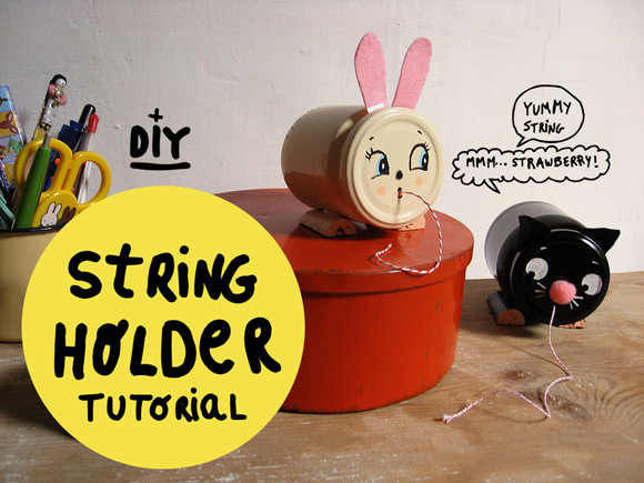 DIY Vintage-Inspired String Holder Tutorial
