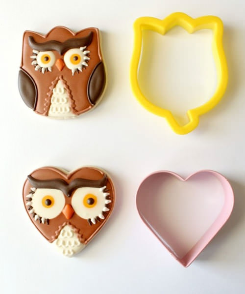Owl Cookies by Sugarbelle