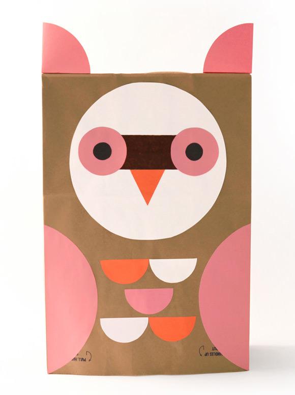 DIY Owl Paper Bag Costume