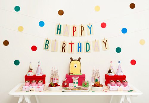 diy forest friends birthday party