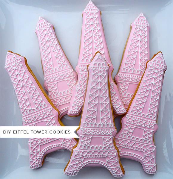 DIY Eiffel Tower Cookies