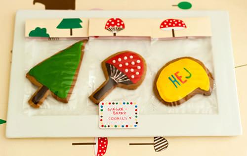 DIY Forest Friends Birthday Cookies