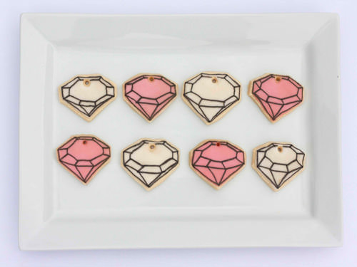 DIY Gem Cookie Necklace