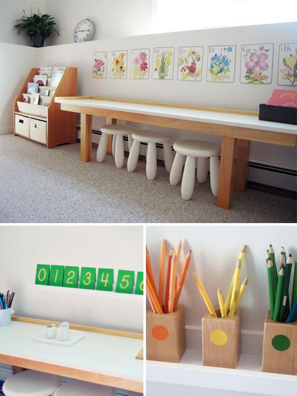 Montessori Playroom for Three