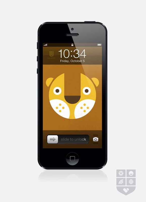 Fun wallpaper for your iPhone / iPad from Wee Alphas