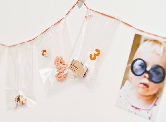 DIY Gift Bag Garland
