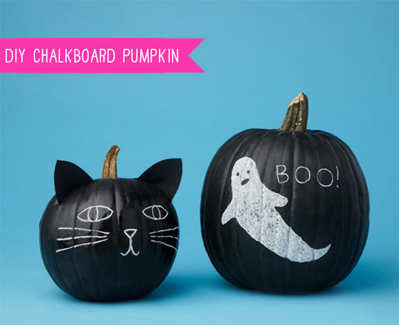 DIY Chalkboard Pumpkin Tutorial