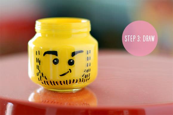 DIY LEGO Pencil Holder