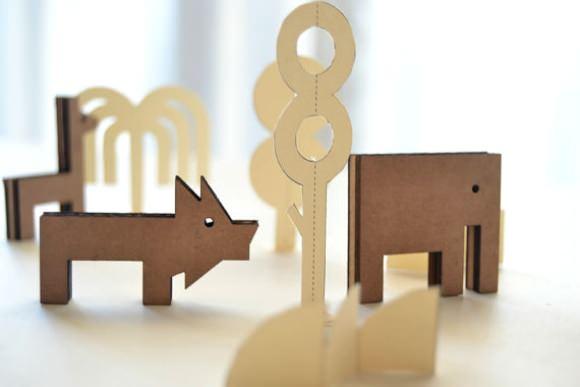 Modern Toys on Etsy - Mini Jungle by Milimbo