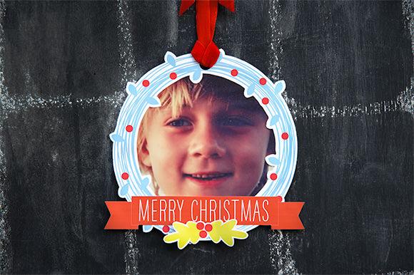 HP Printable Photo Wreaths by Handmade Charlotte