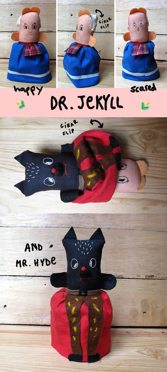 DIY Topsy-Turvy Rag Doll Tutorial