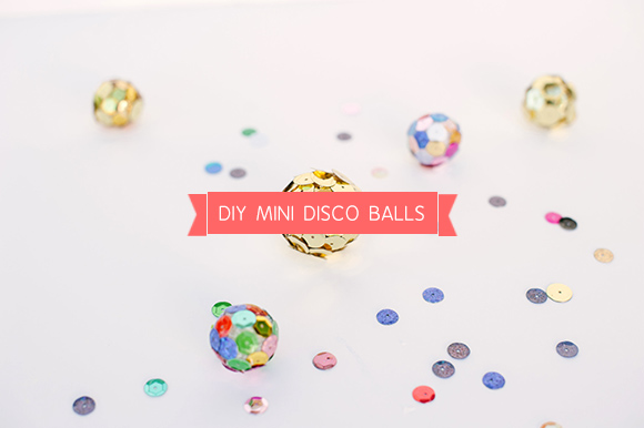 DIY Mini Disco Balls