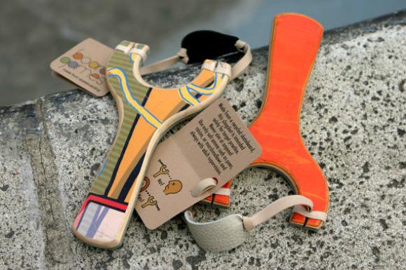 Modern Toys on Etsy - Skateboard Slingshots by Board Games