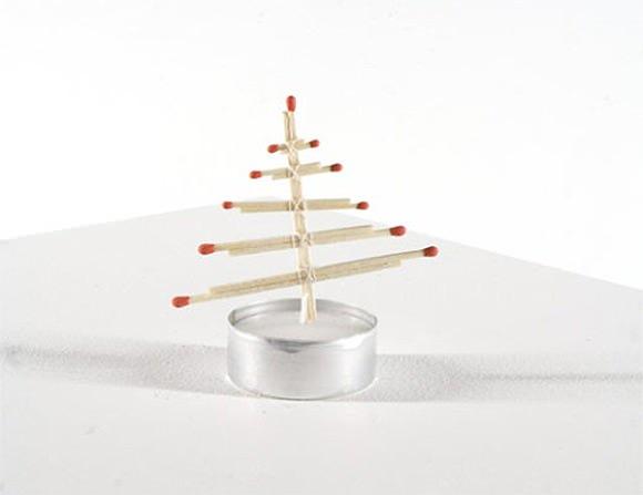 DIY Tea Light Christmas Tree