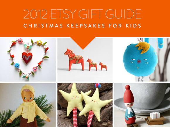 Etsy Gift Guide: Christmas Keepsakes for Kids