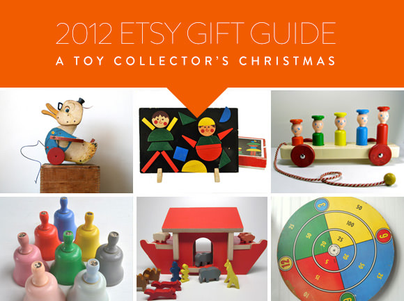 Etsy Gift Guide: A Toy Collector's Christmas