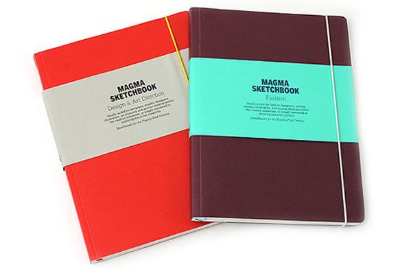 Magma Design & Fashion Reference Sketchbooks