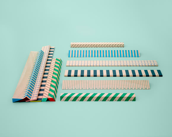 Gorgeous wooden rulers