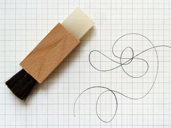 Wood eraser / brush from Present & Correct