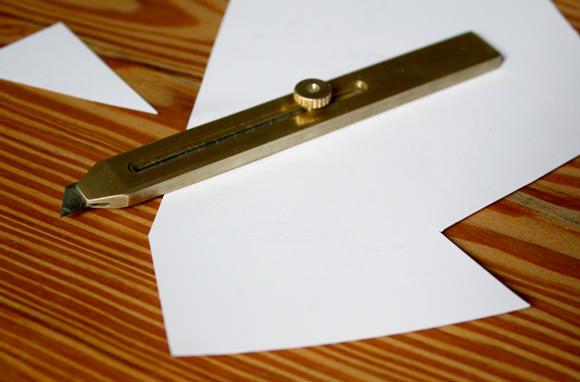 Brass Utility Knife