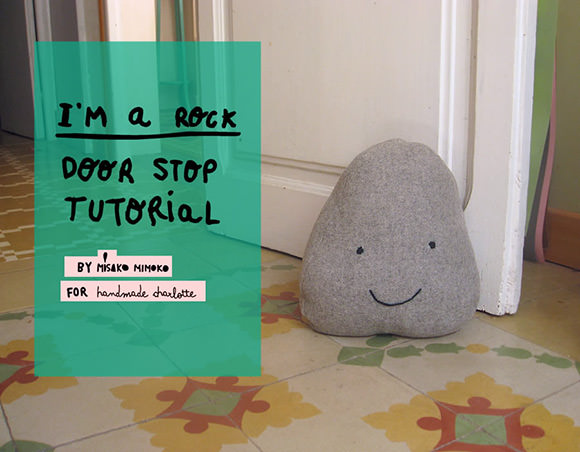 DIY I'm A Rock Doorstop