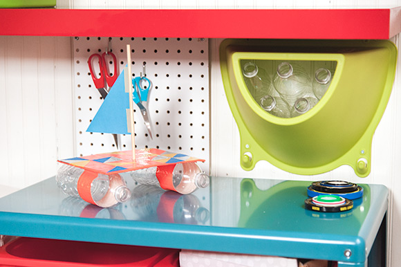 DIY Recycling Center for Kids
