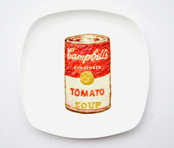 Campbell's Soup, Instagram Food Art by Hong Yi