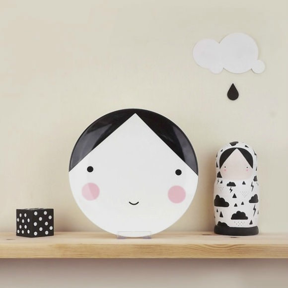 Ebony Plate for Kids from Sketch Inc.