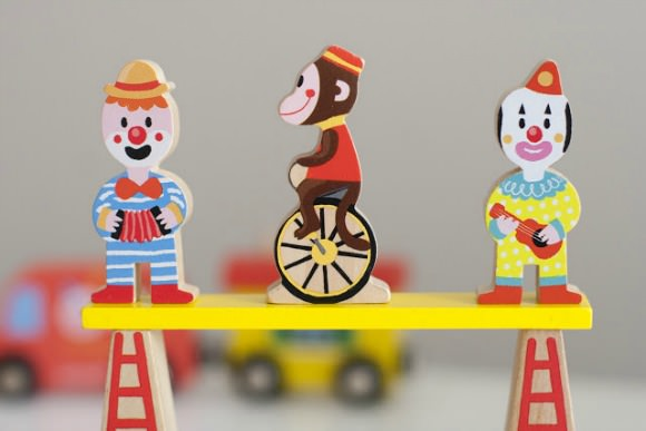 Wooden Toy Circus by Janod